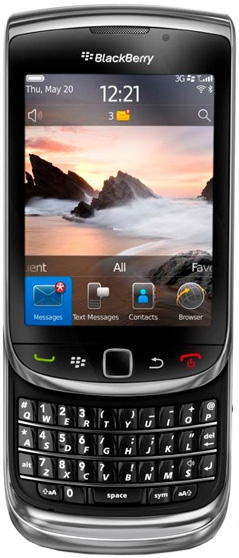 inSSIDer для BlackBerry Torch 9800